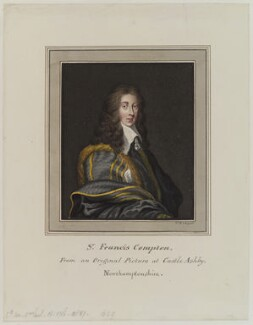 Sir Francis Compton, by Thomas Athow - NPG D19157