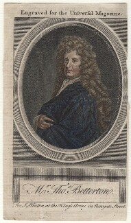 Thomas Betterton, after Sir Godfrey Kneller, Bt - NPG D16406