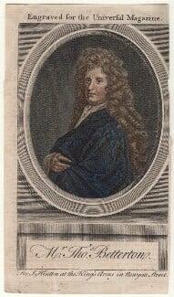 Thomas Betterton, after Sir Godfrey Kneller, Bt - NPG D16406