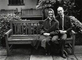 Sue Ryder; Leonard Cheshire, Baron Cheshire, by Anne-Katrin Purkiss, June 1987 - NPG x31693 - © National Portrait Gallery, London
