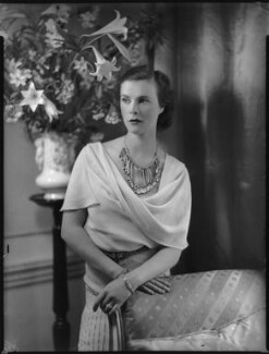 Anne Parsons (née Messel), Countess of Rosse, by Bassano Ltd - NPG x124367