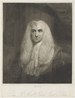 John Scott, 1st Earl of Eldon, by and published by Charles Picart - NPG D19178