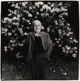 Basil Bunting, by Dudley Reed - NPG x35714