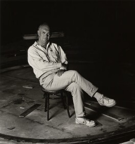Sir Alan Ayckbourn, by Magda Segal - NPG x36169