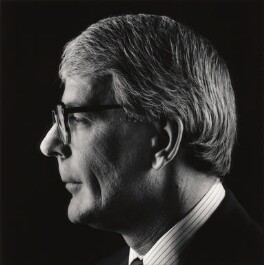 John Major, by Arnhel de Serra - NPG x68923