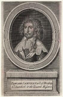 Edward Sackville, 4th Earl of Dorset, by Michael Vandergucht, after  Sir Anthony van Dyck - NPG D16418