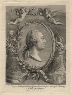 King George III, by John Keyse Sherwin, after  James Cox - NPG D16421