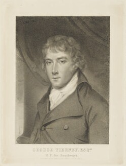 George Tierney, by William Nutter, published by  A.E. Evans & Son, after  Lemuel Francis Abbott - NPG D19248