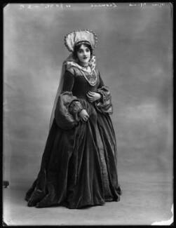 Mina Leonesi as Princess Mary in 'Bluff King Hal', by Bassano Ltd - NPG x102973