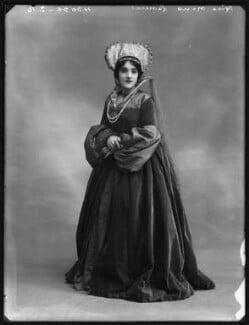 Mina Leonesi as Princess Mary in 'Bluff King Hal', by Bassano Ltd - NPG x102974
