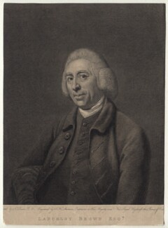 Capability Brown, by John Keyse Sherwin, after  Nathaniel Dance (later Sir Nathaniel Holland, Bt) - NPG D16434