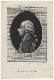 William Black, by R. Stanier, after  Unknown artist - NPG D16432