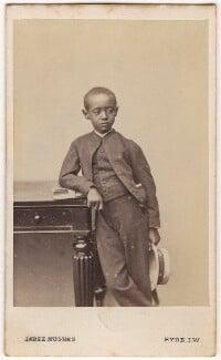 Prince (Dejatch) Alamayou of Abyssinia (Prince Alemayehu Tewodros of Ethiopia), by (Cornelius) Jabez Hughes - NPG x74572