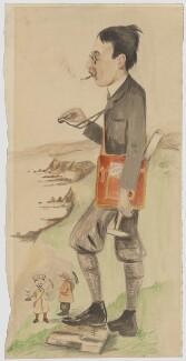 Edward Alexander Newell Arber; Inkerman Rogers; Denis Gascoigne Lillie, by Denis Gascoigne Lillie, probably 1905 - NPG D16534 - © reserved; collection National Portrait Gallery, London