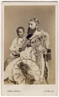 Prince (Dejatch) Alamayou of Abyssinia (Prince Alemayehu Tewodros of Ethiopia); Tristram Charles Sawyer Speedy, by (Cornelius) Jabez Hughes - NPG Ax30351