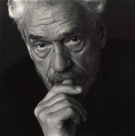 Paul Scofield, by Nicholas Sinclair - NPG x38833
