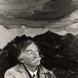 Kyffin Williams, by Nicholas Sinclair - NPG x38834