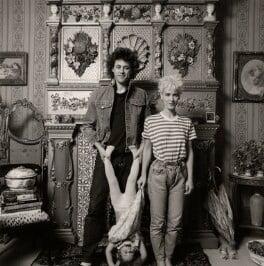 Bob Geldof; Fifi Trixibelle Geldof; Paula Yates, by Koo Stark - NPG x35368