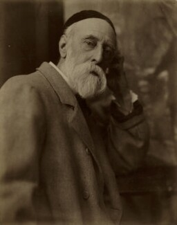 George Frederic Watts, by Henry Herschel Hay Cameron (later The Cameron Studio), 1885 - NPG x20030 - © National Portrait Gallery, London