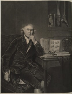 John Hunter, by William Overend Geller, after  Sir Joshua Reynolds, published 1836 (1786) - NPG D19254 - © National Portrait Gallery, London