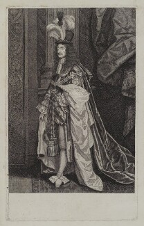 King Charles II, by William Sherwin - NPG D19258