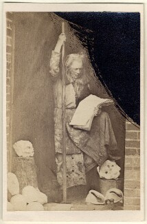 'As a Hermit' (Richard Cockle Lucas), by Richard Cockle Lucas - NPG Ax23430