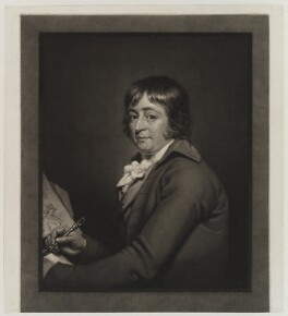 George Morland, by William Ward, after  Robert Muller - NPG D19282