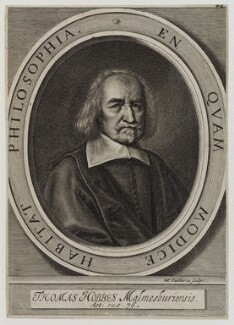 Thomas Hobbes, by William Faithorne - NPG D19290