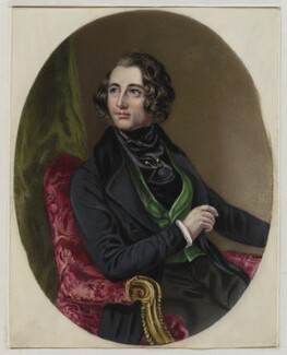 Charles Dickens, after Daniel Maclise, (1839) - NPG  - © National Portrait Gallery, London