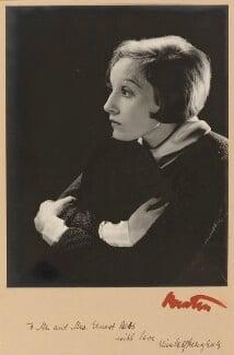 Elisabeth Bergner, by Cecil Beaton - NPG P1041