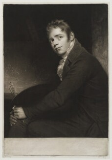 Sir David Wilkie, by and published by John Young, after  Sir William Beechey - NPG D19316