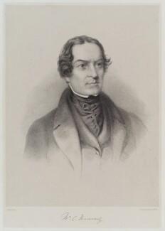 William Charles Macready, by Edward Morton, published by  Hullmandel & Walton - NPG D19335