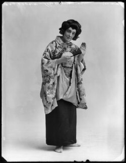 Edith Clegg as Suzuki in 'Madame Butterfly', by Bassano Ltd - NPG x103124