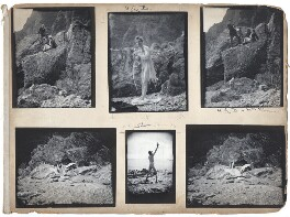 Harley Granville-Barker; George Bernard Shaw; Charlotte Shaw (née Payne-Townshend), by George Bernard Shaw, and by  Harley Granville-Barker - NPG x126440