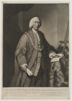 William Beckford, by John Dixon, printed for  Carington Bowles - NPG D19348