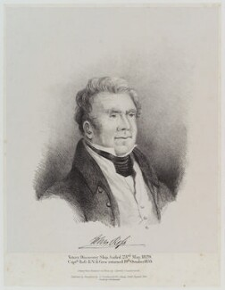 Sir John Ross, by Harriot or Harriet Arnold (née Gouldsmith), printed by  Charles Joseph Hullmandel - NPG D19367
