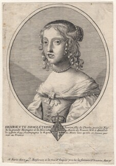Henrietta Anne, Duchess of Orleans, after Claude Mellan - NPG D16460