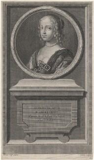 Henrietta Anne, Duchess of Orleans, by Jean Audran, after  Claude Mellan, published 1707 - NPG D16464 - © National Portrait Gallery, London