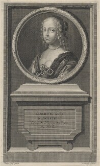 Henrietta Anne, Duchess of Orleans, by Jean Audran, after  Claude Mellan - NPG D16465