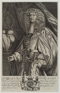 Henry Bennet, 1st Earl of Arlington, by Unknown artist - NPG D19384