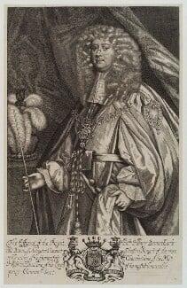 Henry Bennet, 1st Earl of Arlington, by Unknown artist, published 1679 - NPG D19384 - © National Portrait Gallery, London