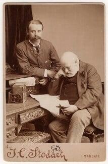 Freeman M. O'Donoghue; Sir George Scharf, by J.C. Stodart, 22-26 July 1886 - NPG x22543 - © National Portrait Gallery, London