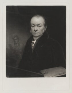 George Clint, by Thomas Goff Lupton, after  George Clint - NPG D19387