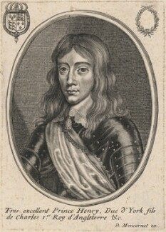 Henry, Duke of Gloucester, published by Balthasar Moncornet, after  Unknown artist - NPG D16469