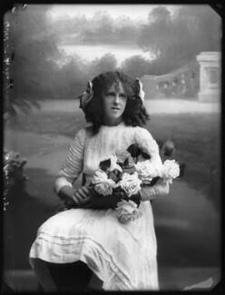 Grace Nolan, by Bassano Ltd, 29 September 1910 - NPG x103283 - © National Portrait Gallery, London