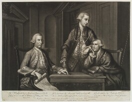 William Beckford; John Sawbridge; James Townsend, by Richard Houston, published by  John Smith of Cheapside, and published by  Robert Sayer - NPG D19402