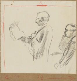 (William) Malcolm Hailey, 1st Baron Hailey; Ivan Mikhailovich Maisky, by Henryk Gotlib - NPG D13575