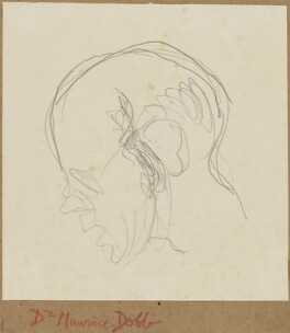 Maurice Herbert Dobb, by Henryk Gotlib - NPG D13580