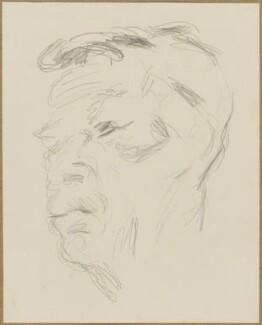 Unknown man, by Henryk Gotlib - NPG D13581