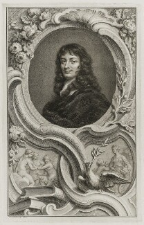 Sir William Temple, Bt, by Jacobus Houbraken, published by  John & Paul Knapton, after  Sir Peter Lely - NPG D19408